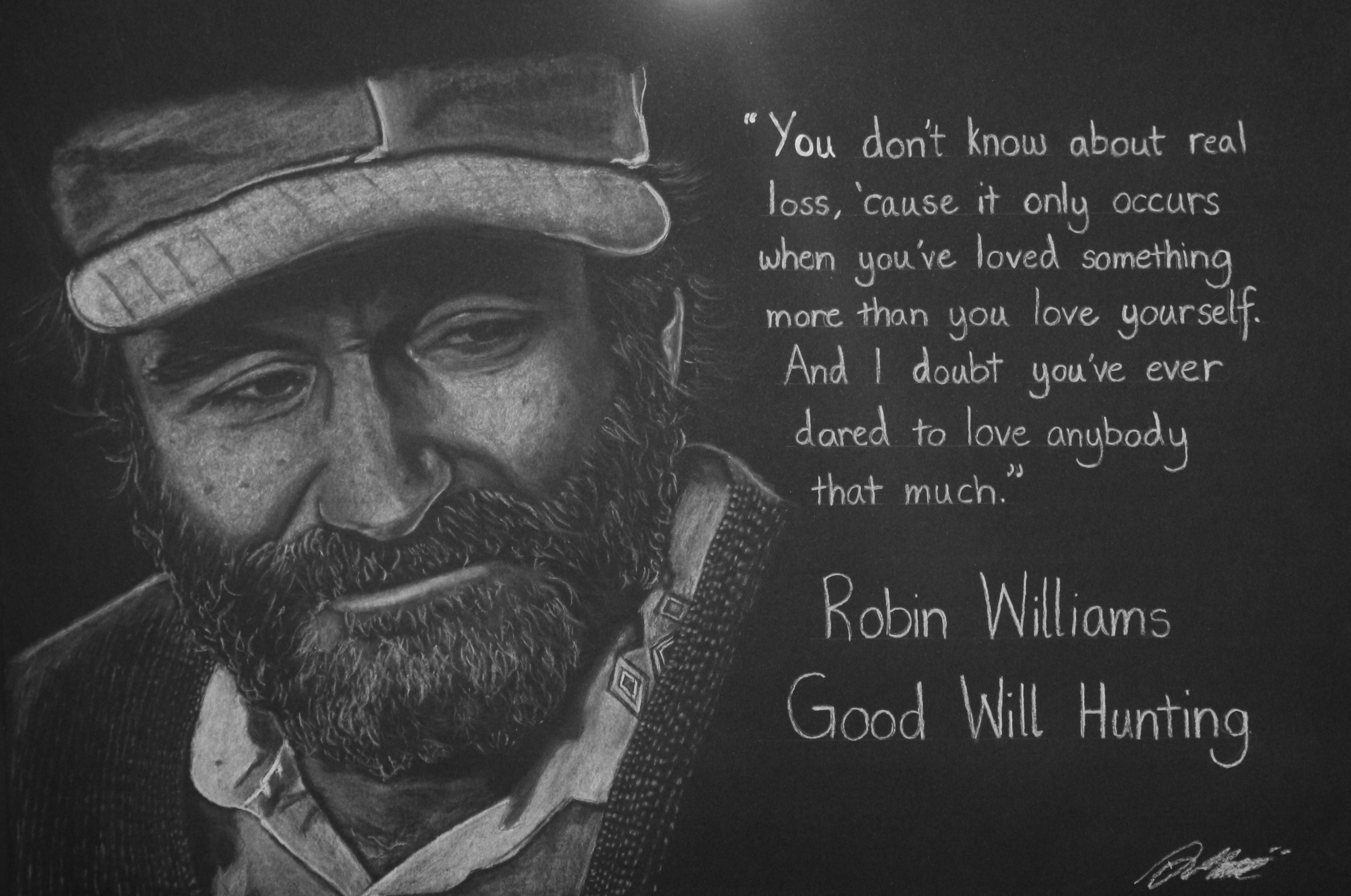 Top Good Will Hunting Quotes Robin Williams Love | Love ...