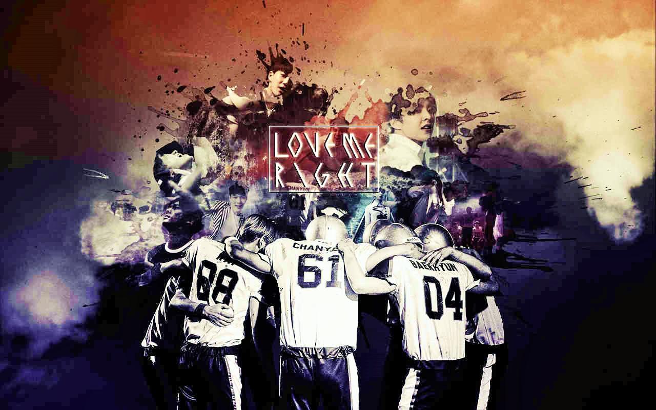 Exo lmr wallpaper by jaz1185 on deviantart - Exo background ...