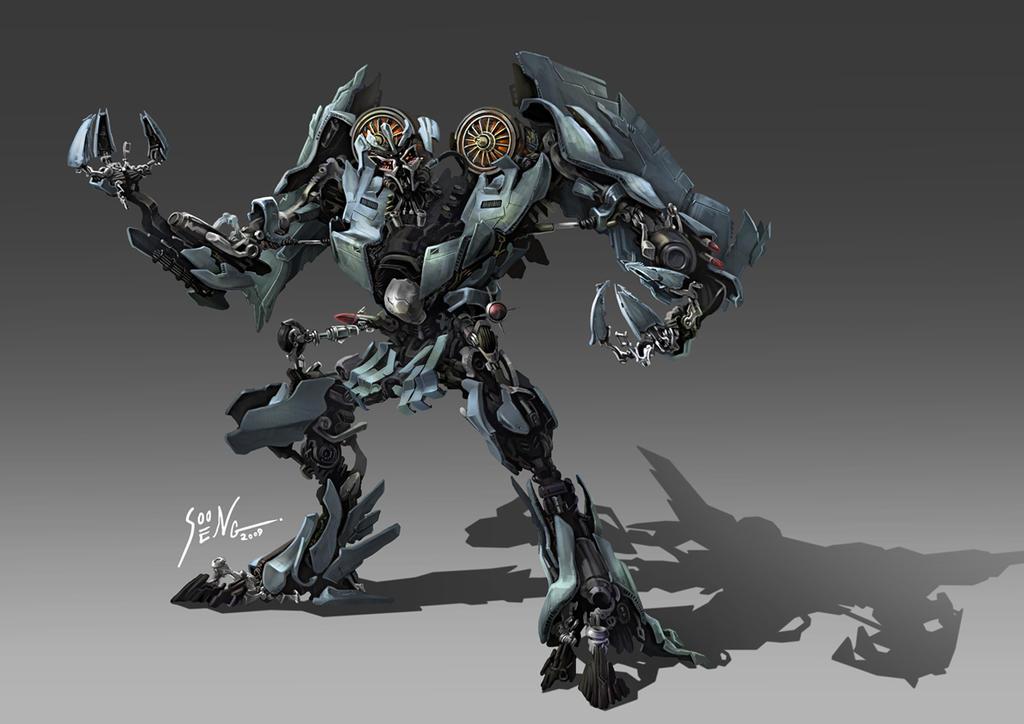 Thundercracker concept design by SS-Cheong