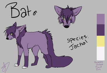 Bat Reference Sheet by Jindovi
