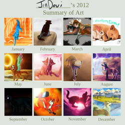 2012 Art Summary by Jindovi