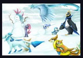 Winter Fun by Jindovi