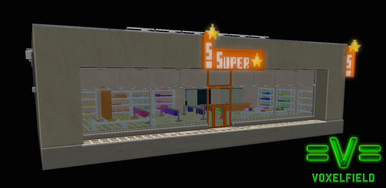 Voxel shop