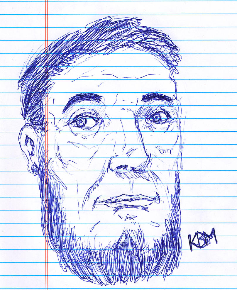 Day 295 of a Year of Drawing 2014 4 by Kevin-B-Madison