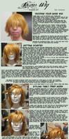 Roxas/Ventus Wig Tutorial (v7 wig)