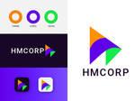 Hmcorp modern brand idntity design