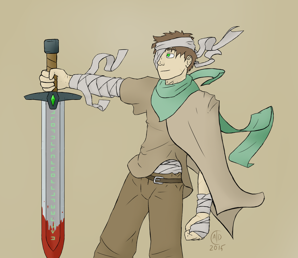 The Lone Swordsman by AD4595