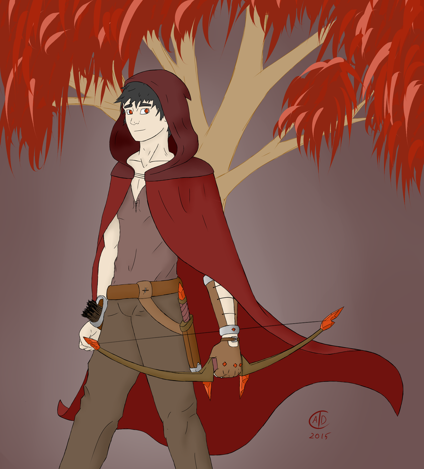 The Blood Ranger by SleepySparky