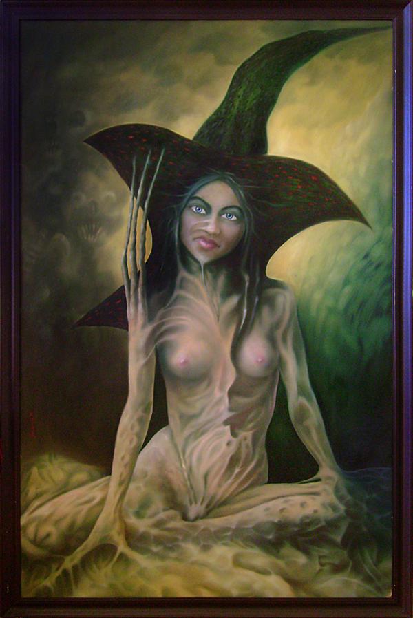 Witch by CiciakHmyz
