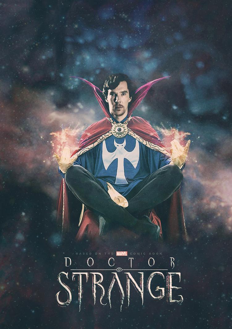 Benedict Cumberbatch as Doctor Strange by pappersflygplan