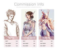 Commission prices by AnaLuizaCG