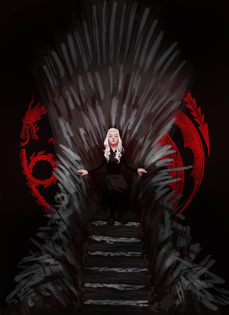 Iron Throne by AnaLuizaCG
