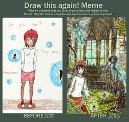 Draw this again! - Can you see them too?