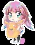 Chibi Bubblegum by Jellymii