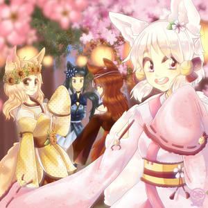 Foxgirls of Seasons