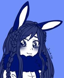 Sapphire Bunny