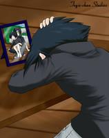 Sad Sasuke by Tegie-chan