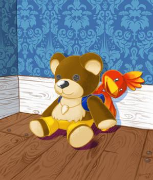Banjo-Kazooie Teddy