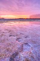 Winter sundown by padika11