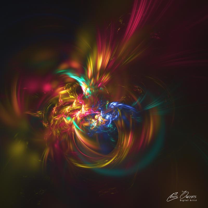 Cosmic Fireworks by owensch