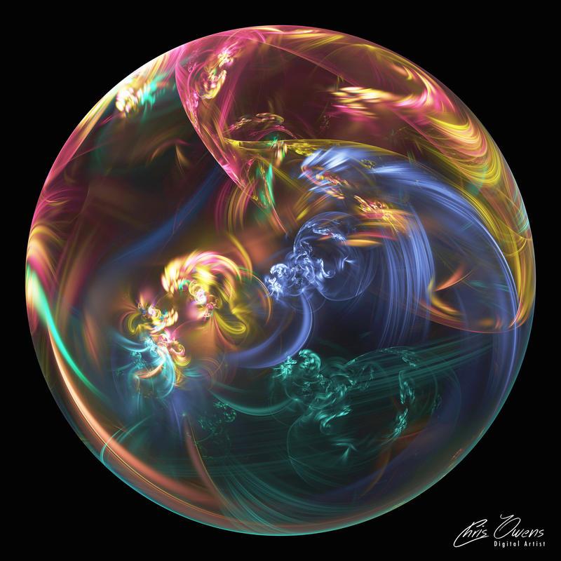 Spiral Orb by owensch