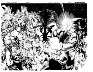 Incredible Hulk 612-613 Covers