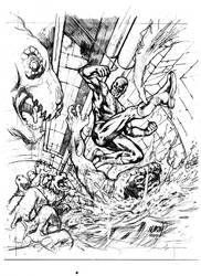 DD vs Lizard prelim sketch by jasonpaz