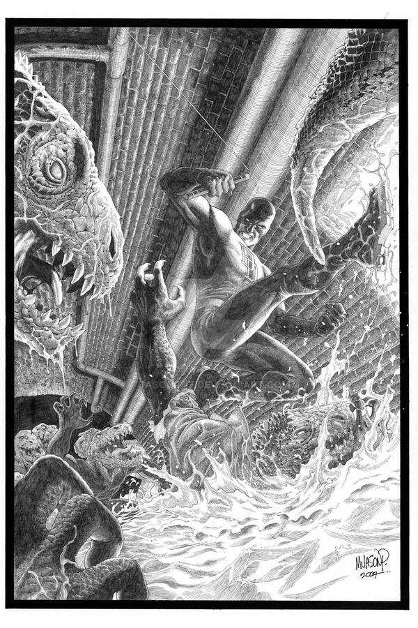 Daredevil vs The Lacoste Gang? by jasonpaz