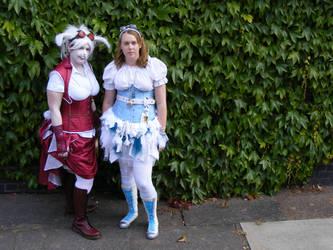 White Rabbit with Alice