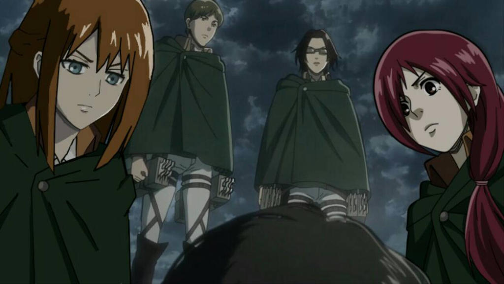 Attack on Titan OC COLLAB by Yukaishironeko