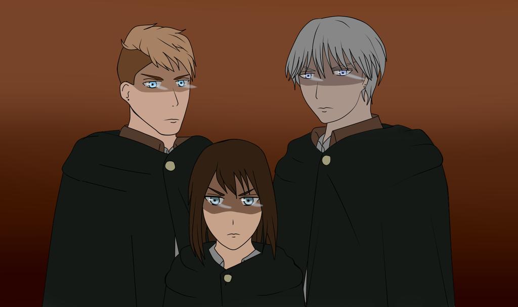 AoT/SnK OC [Scary squad leaders] by Yukaishironeko