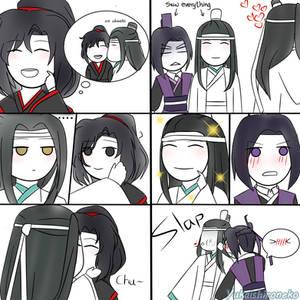 WangXian and XiCheng [Short Comic]