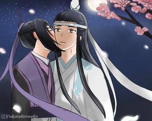 XiCheng [Kiss on cheek] by Yukaishironeko