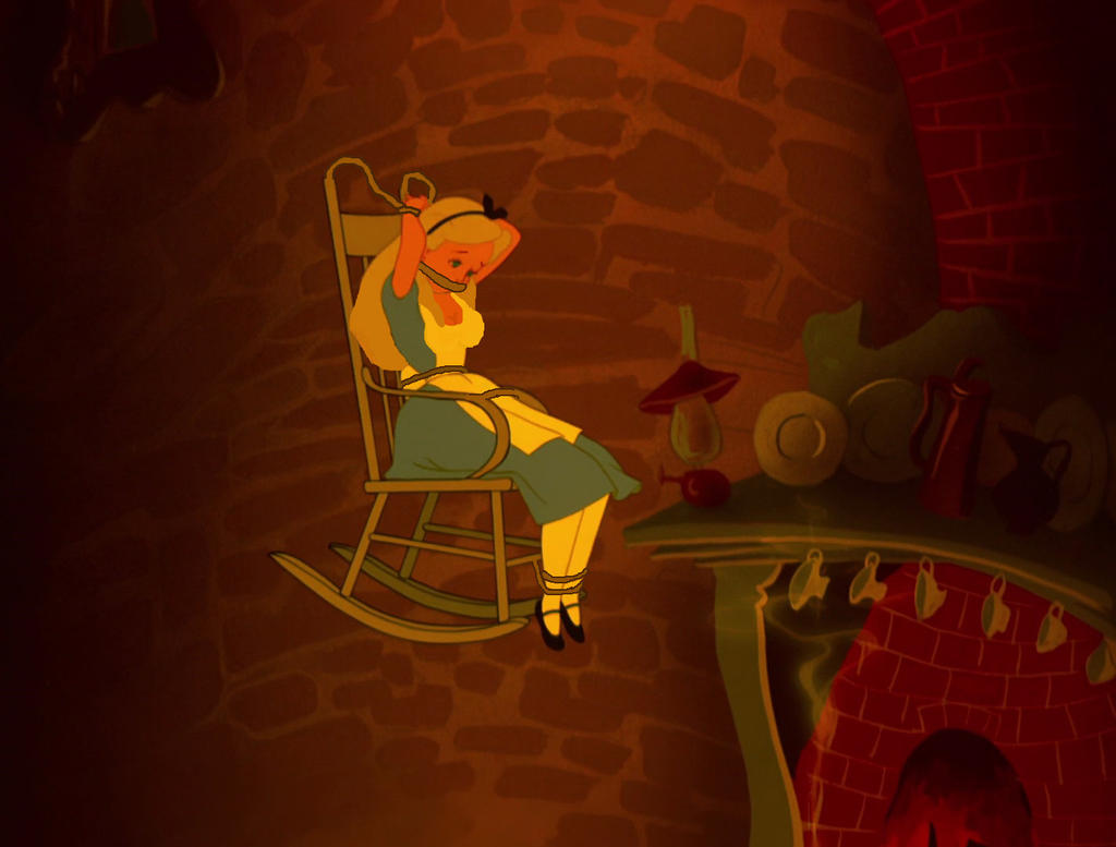The Roping Chair 3 by SubMelissa