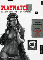 Playwatch version of the Playboy 1st issue