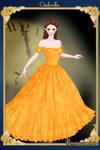 Cinderella Golden dress Broadway