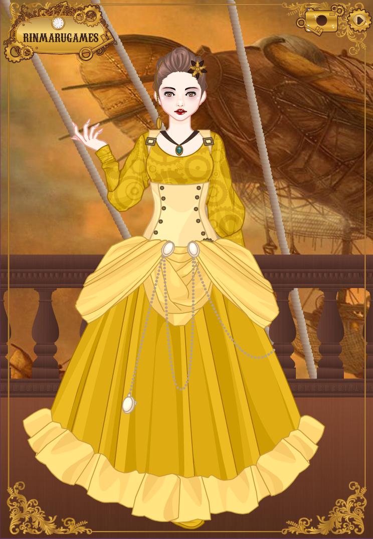 Steampunk Cinderella-Ellie Ballgown by LadyFayeTale on DeviantArt