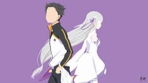 Subaru And Emilia (Re:Zero)