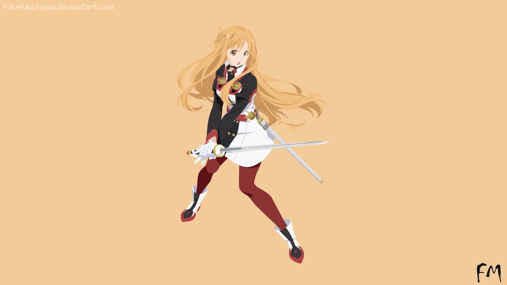 Asuna minimalist by fikrimochizou on deviantart for Minimal art online