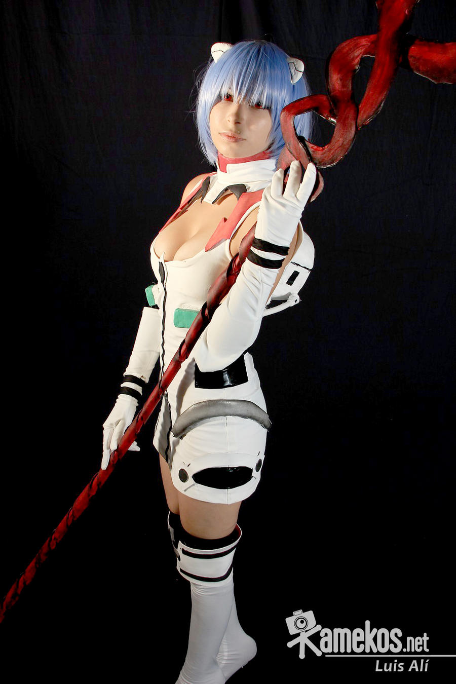 Rei Ayanami Cosplay by MaryAlfaro
