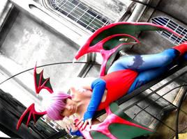 Lilith Aensland Cosplay by MaryMagika