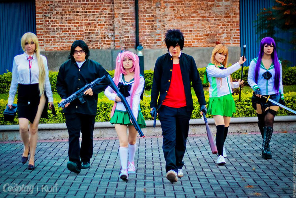 Highschool of the Dead Team by MaryMagika