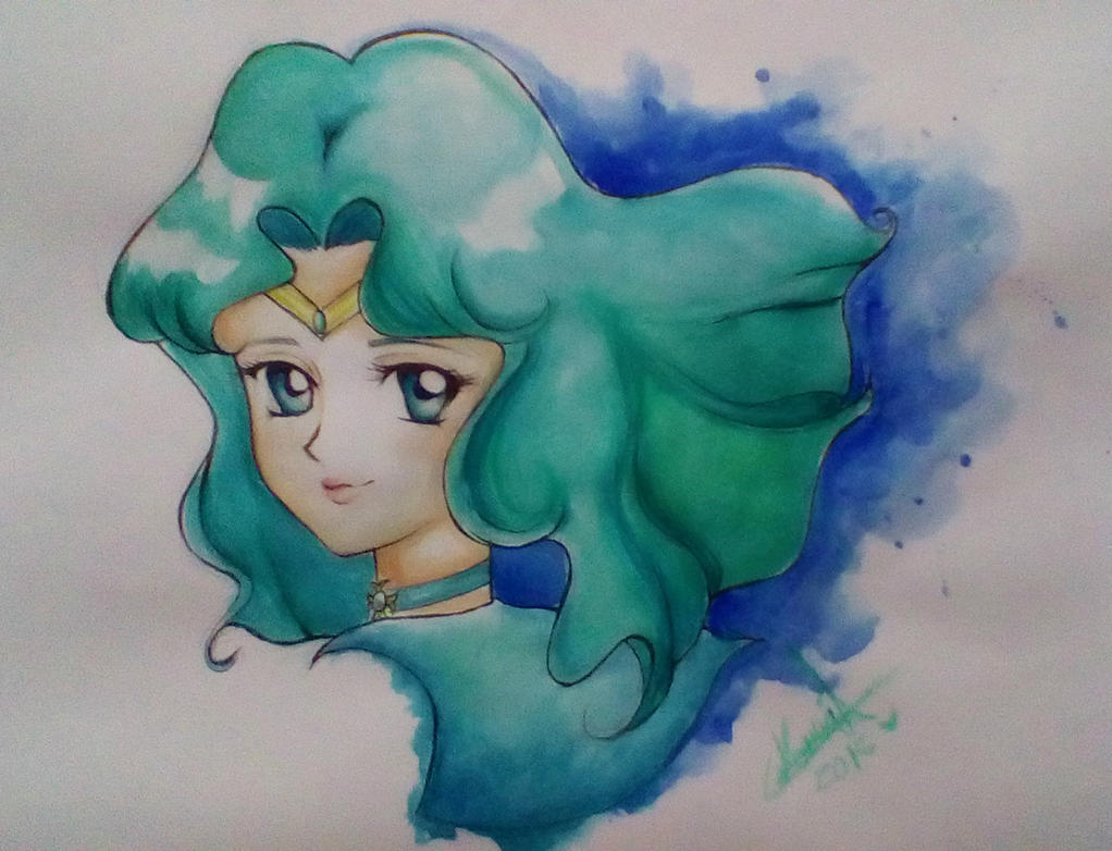 Sailor Neptune by MaryMagika