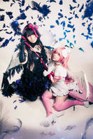 Akuma and Kami by MaryMagika