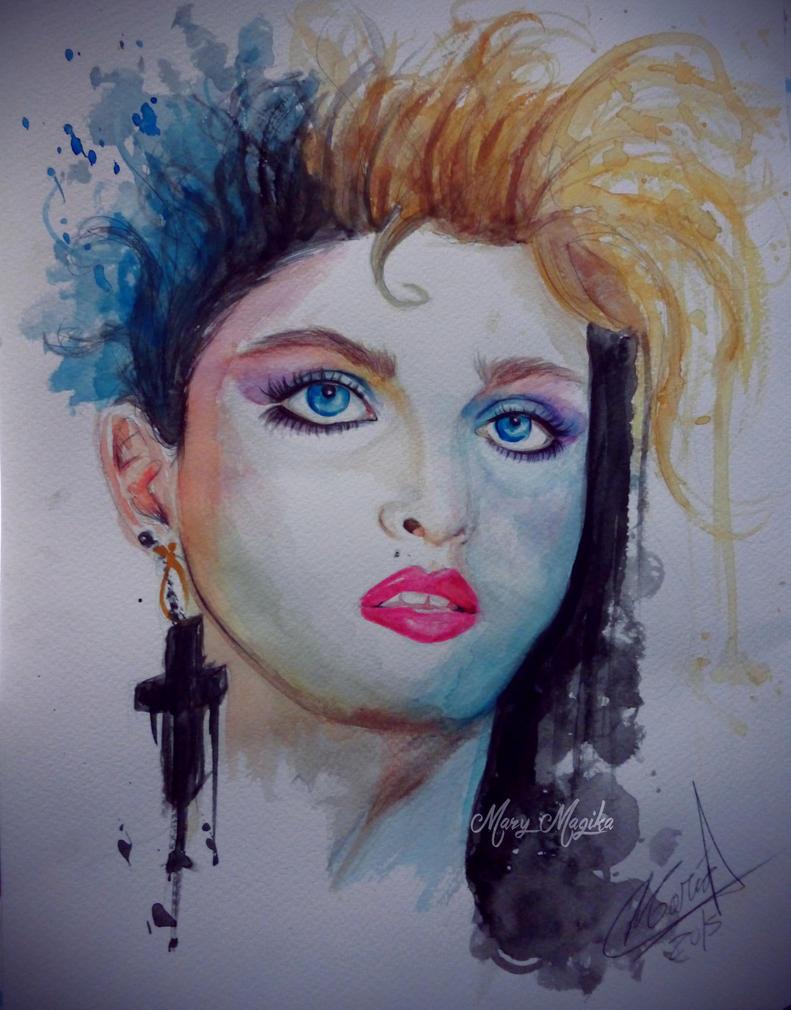 Madonna by MaryMagika