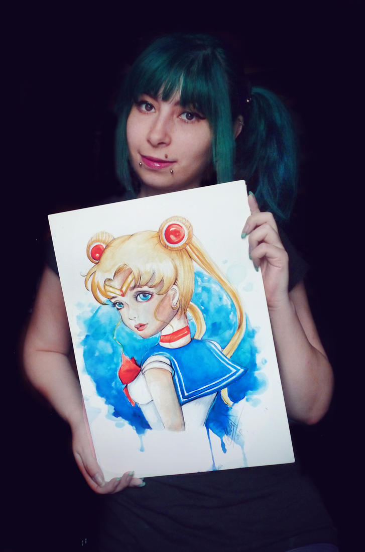 Sailor Moon by MaryMagika