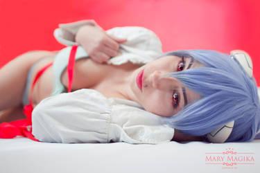 Rei Ayanami Boudoir by MaryMagika