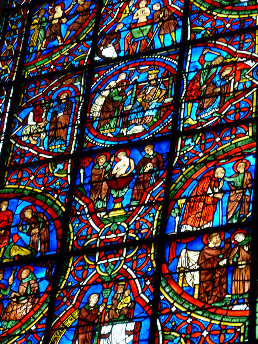 Vitraz Chartres___monks_and_lepers_2_by_allatwan-d3ipadv