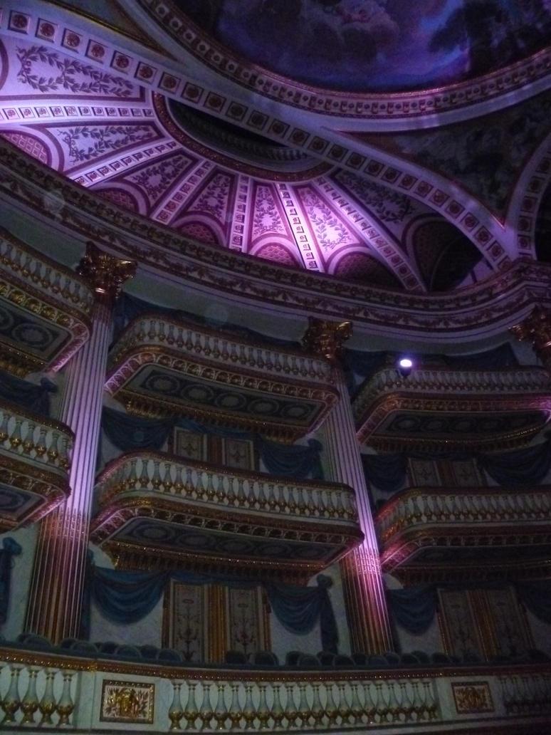 Grand Theatre - Blue Room by Allatwan