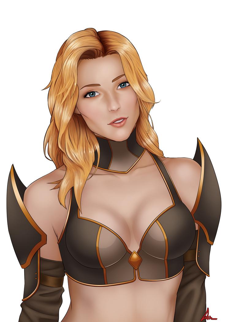 Commission: Sarah 1 by scyfon